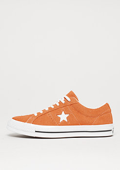 Converse One Star Ox bold mandarin/white/white