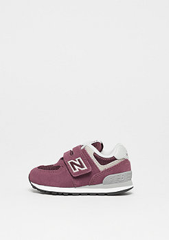 New Balance IV574GB (INF) burgundy