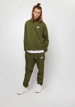NIKE Track Suit WVN olive canvas/white