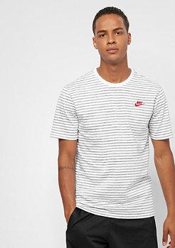NIKE Striped 2 white/university red