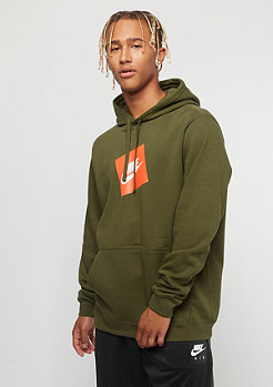 NIKE HBR PO Fleece olive canvas
