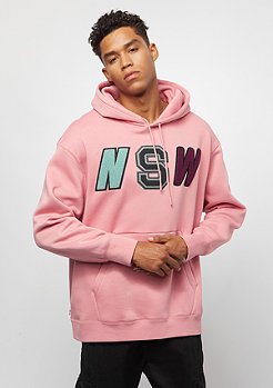 NIKE PO Fleece rust pink
