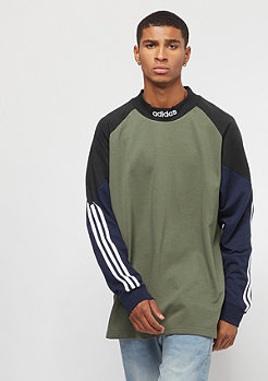 adidas Goalie Fleece base green/black/collegiate navy