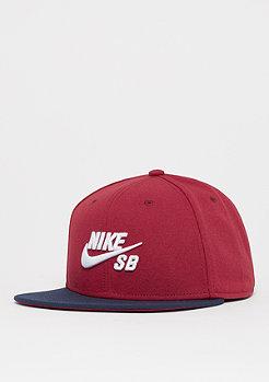 NIKE SB U NK Pro Cap red crush/obsidian/white