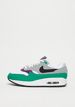 NIKE Wmns Air Max 1 white/black-wolf grey-clear emerald