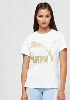 Puma Classics Logo puma white/gold