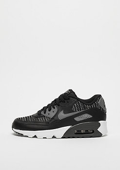 NIKE Air Max 90 Mesh (GS) black/cool grey-anthracite-wolf grey
