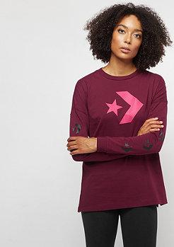 Converse Star Chevron dark burgundy