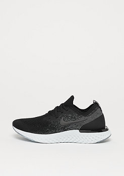 NIKE Running Epic React Flyknit (GS) black/black-dark grey-pure platinum
