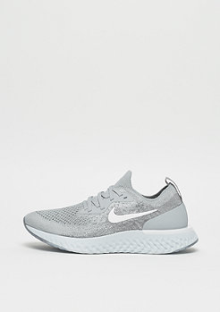 NIKE Running Epic React Flyknit wolf grey/white-cool grey-pure platinum