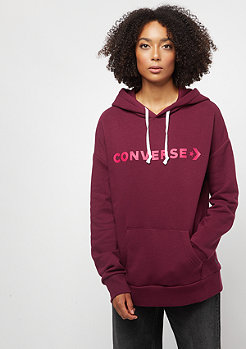 Converse Star Chevron Oversized dark burgundy