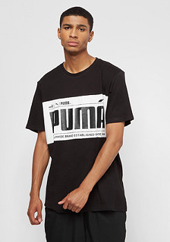Puma Graphic Logo Block cotton black