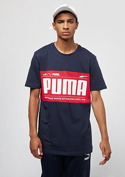 Puma Graphic Logo Block peacoat