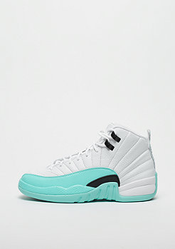 JORDAN Air Jordan 12 Retro white/black-light aqua