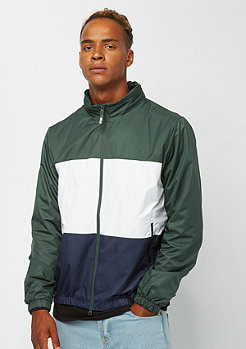 NIKE SB Dry Hooded Stripe midnight green/white/obsidian