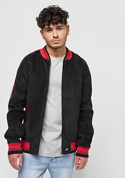 Sixth June Velvet Jacket With Sleeves Ban black/red