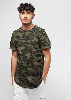 Sixth June Tee Biker Camo green