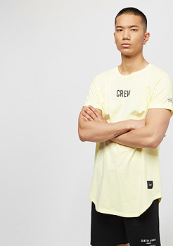 Sixth June Tee Crew Rounded Bottom light yellow
