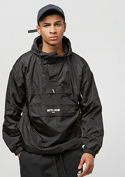 Sixth June Rain Jacket With Sleeves Band black stone/yellow