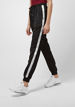 Sixth June Satin Pants With Sides White black