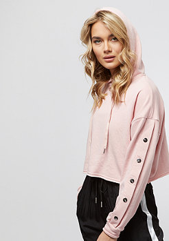 Sixth June Classic Oversize Cropped dark stone/pink
