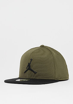 JORDAN Jumpmann Snap olive canvas/black/black