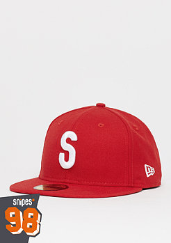 New Era 59Fifty SNIPES 20th Anniversary scarlet/white