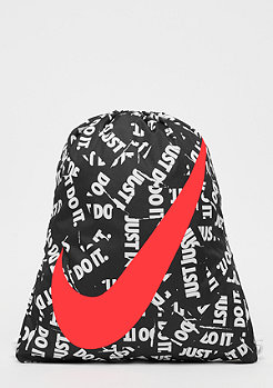 NIKE Kids Graphic Gym Sack black/white/bright crimson
