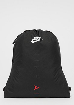 NIKE U Heritage Gym Sack black/black/univerity red