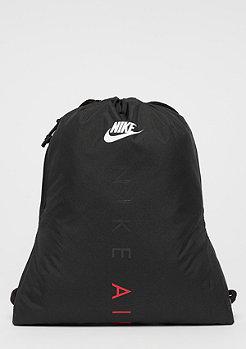 NIKE U Heritage Gym Sack black/black/univerity red