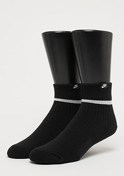 NIKE Sneaker Sox Essential Quarter black/white/white