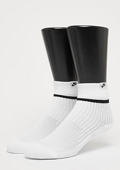 NIKE Sneaker Sox Essential Quarter white/black/black