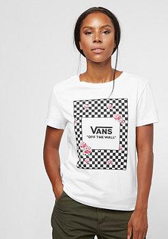 VANS Boxed Rose Checks white