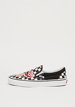 VANS UA Classic Slip-On (Checkerboard) satin patch