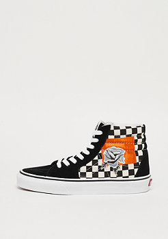VANS UA SK8-HI satin patchwork checker/black