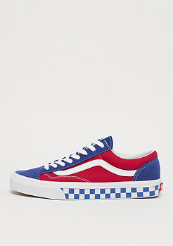 VANS Style 36  (Checkerboard) true blue/red