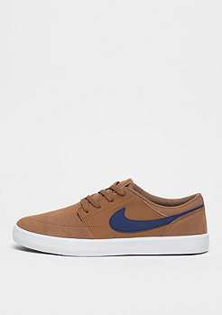 NIKE SB Solarsoft Portmore II lt british tan/blue void/black