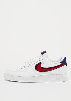 NIKE Air Force 1 '07 LV8 white/university red/blue void