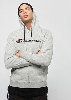 Champion American Classics Zip light grey heather/navy