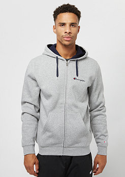 Champion American Classics Zip light grey heather/navy