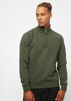 Champion C-Logo Half Zip dark olive