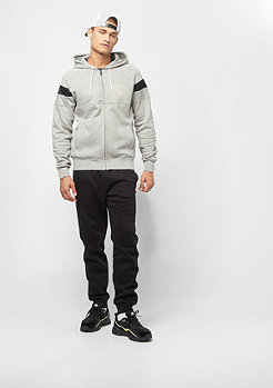 Champion Sweatsuit Hooded Full Zip light grey heather/black/black