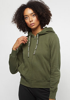 Champion American Classics Hooded Zip dark olive