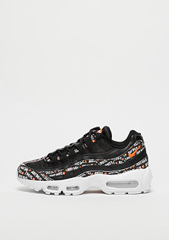 NIKE Air Max 95 black/black-white-total orange