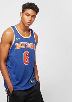 NIKE Basketball NBA Swingman New York Knicks Kristaps Porzingis rush blue