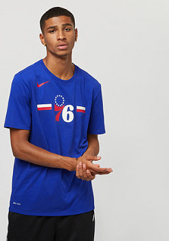 NIKE Basketball NBA Philadelphia 76ers Dry rush blue