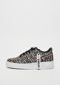NIKE Air Force 1 JDI black/total orange-white
