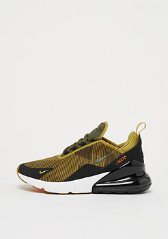 NIKE Air Max 270 Knit Jaquard (GS) golden moss/olive canvas-black-whit