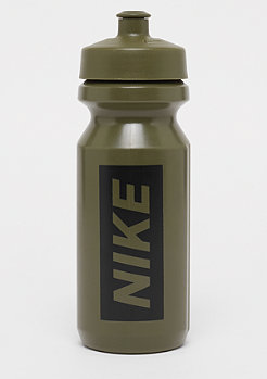 NIKE Big Mouth Graphic Water Bottle 650ml olive canvas/olive