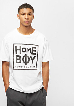 Homeboy HB Unisex Take you Home Tee white